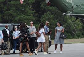 the obama family end of summer style keeps warm weather fashion