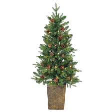 4 Ft Pre Lit Christmas Tree Sale by Sterling 4 Ft Pre Lit Natural Cut Georgia Pine Artificial