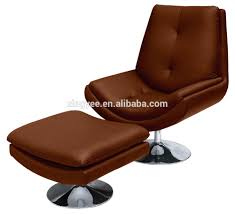 real leather swivel recliner chairs modern living room lounge furniture armless chair sofa genuine