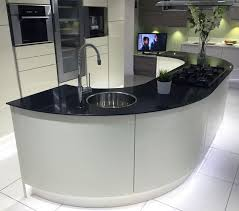 curved kitchen island best 25 curved kitchen island ideas on kitchen