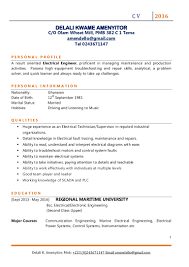 Electronic Engineering Resume Sample Resume For Electrical Engineering Technician Contegri Com