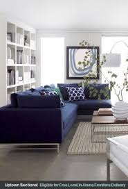 Blue Sectional With Chaise Navy Blue Sectional Sofa Foter