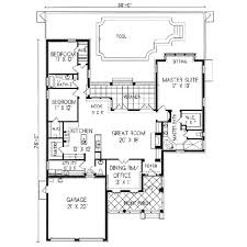 southwest style home plans adobe southwestern style house plan 3 beds 2 5 baths 2226 sq