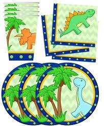 dinosaur birthday dino dinosaur birthday party supplies set plates