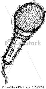 vector clip art of grunge mic csp15373014 search illustration