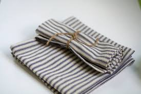 blue stripe cloth napkin blue and cloth napkins picnic