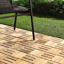 12 u201d x 12 u201d teak patio flooring tiles 10 pack christmas tree