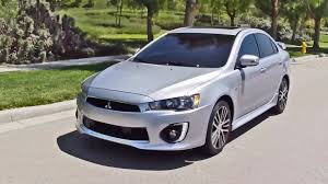 2016 Mitsubishi Lancer Gt Youtube