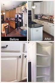 White With Brown Glaze Kitchen by Antique White Kitchen Update General Finishes Design Center