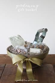 House Warming Wedding Gift Idea Gardening Gift Basket Housewarming Gift