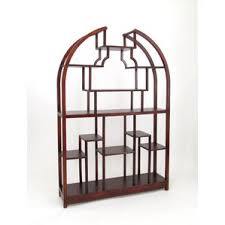 arched bookcase wayfair