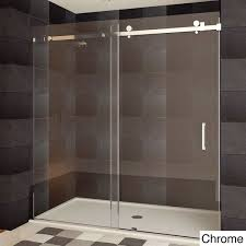 Discount Shower Doors Free Shipping Lesscare Ultra B Semi Frameless Sliding Shower Doors Free