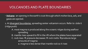 plate tectonics earthquakes u0026 volcanoes ppt download