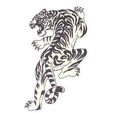 artistmikemiller tribal tiger designs tattoos