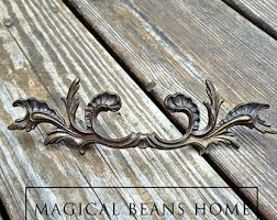 French Country Cabinet Hardware by View Brass Hardware By Magicalbeanshome On Etsy