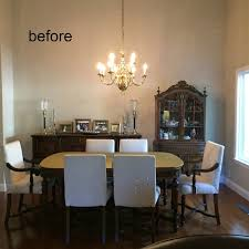 comfortable usable dining room updates before and after