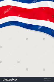 Flag Costa Rica Costa Rica Flag Background Seamless Looping Animation 4k Hd Video