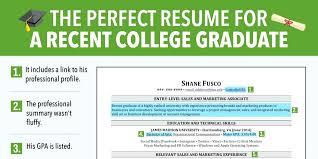 resume template for recent college graduate recent college graduate resume megakravmaga