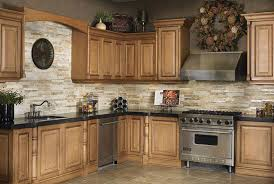 extraordinary stone backsplash collection with interior home