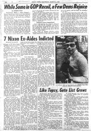 grand jury indicts seven in watergate break in in 1974 ny daily news