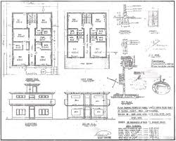 Townhouse Building Plans Glamorous Plans And Elevations Of Houses Gallery Best
