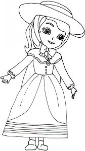 film free thanksgiving coloring pages sofia the first printable