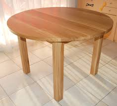 Table Chene Massif Moderne by Table Ronde Bois Massif On Decoration D Interieur Moderne Ronde