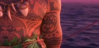 all of maui u0027s tattoos in u0027moana u0027 show how culturally important the