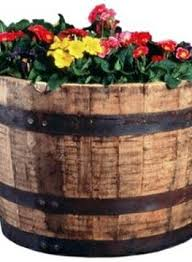 Half Barrel Planter by 23 Best Barrels Not Mine Follow Links Images On Pinterest
