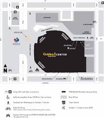Tacoma Mall Map Directions And Parking Golden1center
