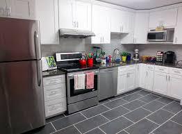 ice white shaker kitchen cabinets roselawnlutheran
