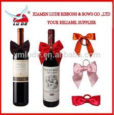 bows for wine bottles wine bottle neck decorative bows wine bottle neck decorative bows