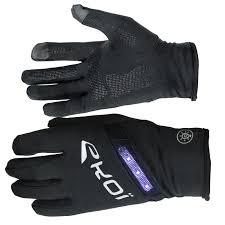 bike gloves ekoi led long black cycling gloves