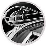 1936 plymouth sedan ornament 2 metal print by reger