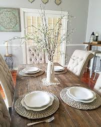 Kitchen Table Decorating Ideas Best 25 Half Table Ideas On Pinterest Purple Nightstands