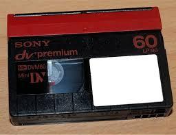 dv cassette numã risation â rm 68