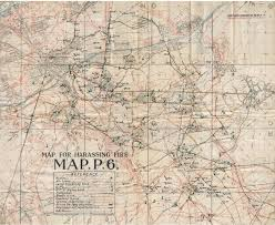 Ww1 Map Wwi Vintage Military Map Stock Photo Picture And Royalty Free