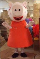 Peppa Pig Halloween Costume Peppa Pig Mascot Unisex Fancy Dress Ebay