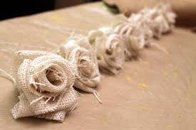 burlap flowers diy tutorial burlap flowers diy how to make a burlap flower