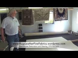 How To Clean A Long Shaggy Rug Making A Shag Rug Like New Youtube