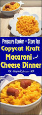 copycat kraft macaroni u0026 cheese dinner pressure cooker or stove