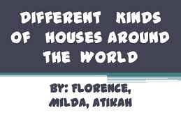 different kinds of houses around the world