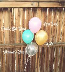 8 11 balloons mix in pink mint u0026 gold party