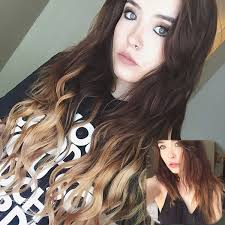 thin hair with ombre wavy hair extensions vpfashion