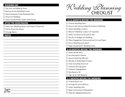 wedding planning list wedding planning checklist
