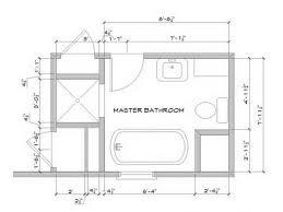 Master Bath Plans Bathroom Attractive Small Master Bathroom Floor Plans Small