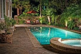 Small Tropical Backyard Ideas Tropical Pool Area With Gardens And Privacy Swimming Pools In Very