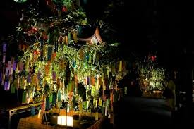 tanabata celebrating the summer festival in japan matcha