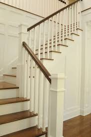 Oak Stair Banister The 25 Best Wood Stair Railings Ideas On Pinterest Stair Case