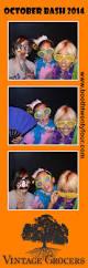 getting in the halloween spirit in malibu booth twenty four